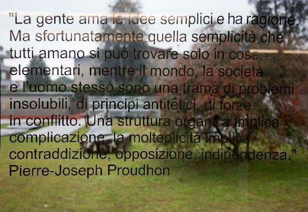Robert Pettena, Deschooling Society  Estratti dalla letteratura anarchica Site specific per DATABASE, 2012 Photo: courtesy Robert Pettena