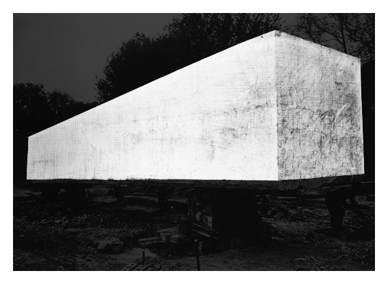 Stefano Canto, Monolite Stampa Ultrachrome K3 su carta Hahnemühle 100x140 cm 2012, archivio Istituto Luce, Roma Photo: courtesy Stefano Canto