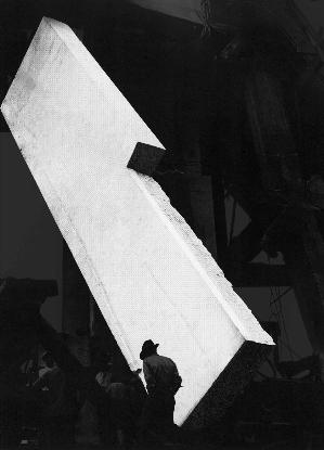 Stefano Canto, Basamento Stampa Ultrachrome K3 su carta Hahnemühle, 72x100 cm 2012, archivio Istituto Luce, Roma Photo: courtesy Stefano Canto
